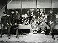 1918年(大正7年)に京都下鴨で撮影された水崎一家.JPG