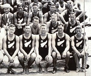 New Zealand at the Olympics - The New Zealand rowing team at the 1932 Summer Olympics