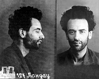 Lev Landau - Photo in prison, 1938-9