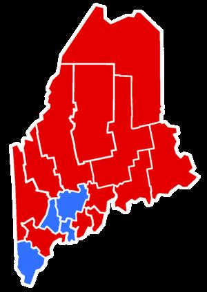 Maine gubernatorial election, 1938 - Image: 1938Maine Gubernatorial