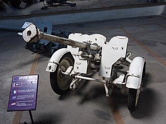 2.8 cm sPzB 41 - 2.8 cm sPzB 41 at the Musée des Blindés.