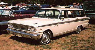 Ford Ranch Wagon - 1963 Ford Fairlane 500 Custom Ranch Wagon