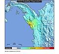 1975 Chocó earthquake ShakeMap.jpg