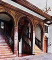 19870924090NR Gnemern (Jürgenshagen) Wasserschloß Treppe.jpg