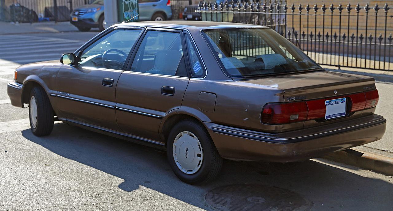 1990 geo prizm gsi 4dr hatchback 1 6l manual rh carspecs us 1992 Geo Prism 1992 Geo Prizm