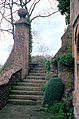 1992 Snowshill Manor Priests House steps Gloucestershire England.jpg