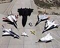 1997 Dryden Research Aircraft Fleet on Ramp - GPN-2000-000172.jpg