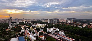 Singapore Polytechnic - Panorama of the campus