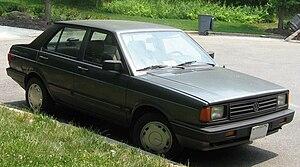 Volkswagen Gol - 1987–1990 Volkswagen Fox 4-door sedan