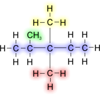Alkyl - Image: 2,3,3tri Methyl Pentane