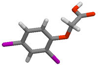 2,4-Dichlorophenoxyacetic acid in 3-D