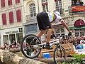 2ème Trial Sports Challenge Entreprises de Sens - 31 - Vincent Hermance dans la quatrième zone.JPG