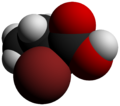 2-Bromobutyric acid-3D-vdW-by-AHRLS-2012.png