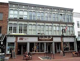 Church Street Marketplace - Image: 20 26 Church Street Burlington Vermont