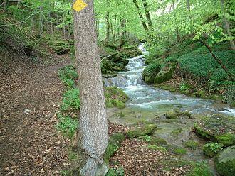 Mühlethurnen - Mühlibach stream near Mühlethurnen