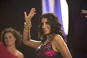 Hemalayaa performing a Bollywood dance.