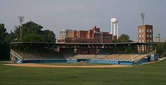 Durham Bulls - Durham Athletic Park in 2008