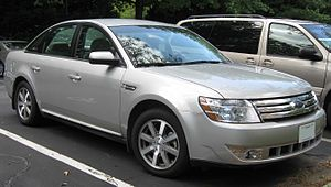 2008 Ford Taurus photographed in Gaithersburg,...