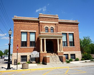 Spring Valley, Minnesota - Spring Valley City Hall was originally built in 1904 as a Carnegie library.