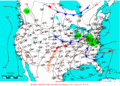 2009-06-17 Surface Weather Map NOAA.png