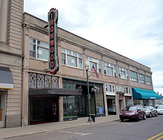 Ironwood, Michigan - The Ironwood Theatre Complex (now The Historic Ironwood Theatre Center for the Performing Arts) is on the National Register of Historic Places