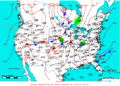 2009-07-10 Surface Weather Map NOAA.png