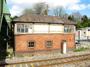 St Austell railway station - The old signal box