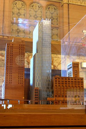 Roosevelt University - An architectural model of the university's newest building