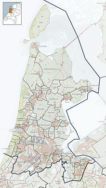 AMS / EHAM находится в Северной Голландии.