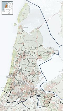 Flevopark is located in North Holland