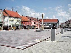 Main square in Ljutomer