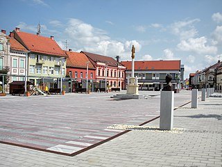 Ljutomer Place in Styria, Slovenia