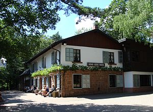 Hohe Loog (Haardt) - Image: 2010 Pfälzer Wald 103a Hohe Loog Haus