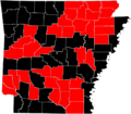 2012 Arkansas Democratic Primary by County.PNG