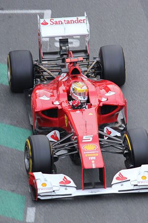 2012 Monaco Grand Prix - Fernando Alonso (pictured in free practice) sported a special livery helmet during the race weekend.