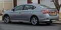 2013 Nissan Sentra SR rear left.jpg