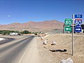 2014-06-12 10 01 20 Signs for Interstate 80 and Interstate 80 Business Loop near the west end of Nevada State Route 794 (East Winnemucca Boulevard) in Winnemucca, Nevada.JPG