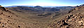 2014-10-19 09 15 37 Panorama east across the upper end of Meadow Canyon from about 9740 feet along a trail north of Jefferson Summit, Nevada.JPG