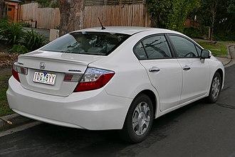 Honda Civic (ninth generation) - Honda Civic Hybrid (Australia)