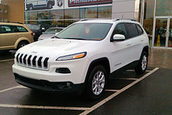 2014 Jeep Cherokee North 4x2 Edition Canada Front.jpg