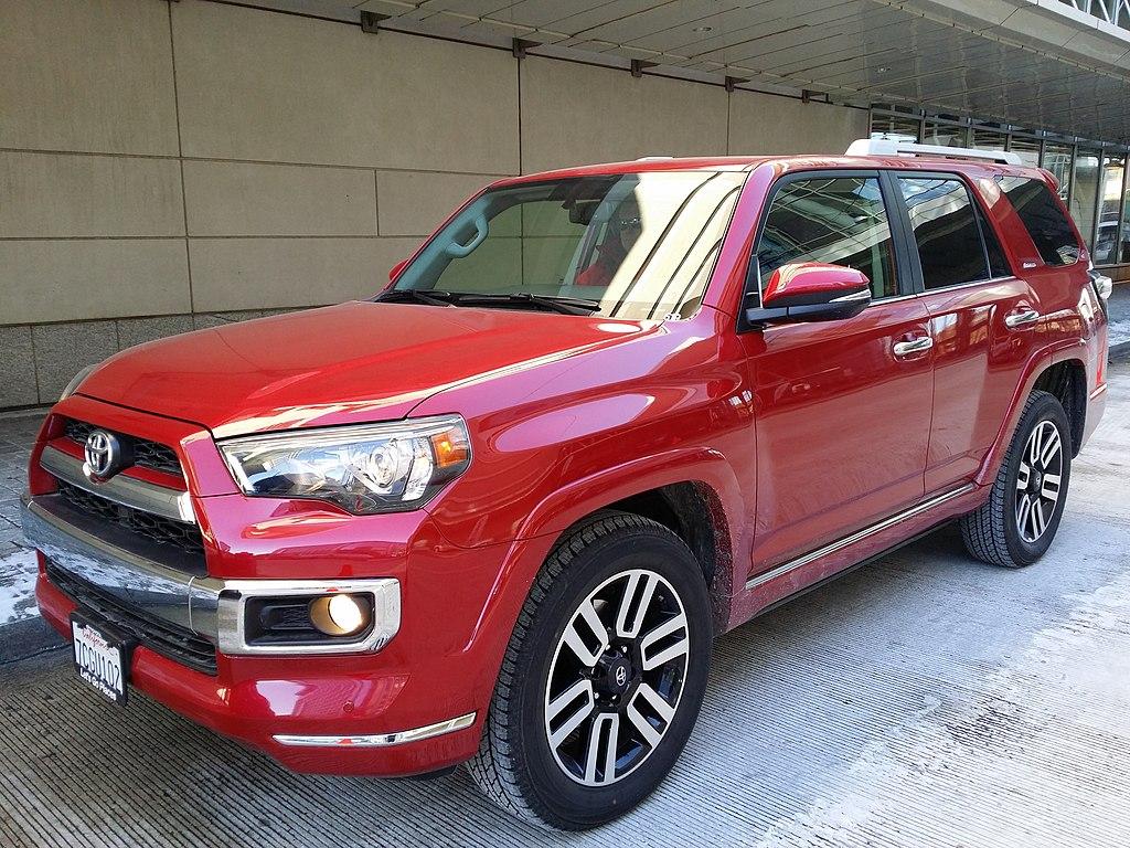 Archivo 2014 Toyota 4runner Limited In Barcelona Red Jpg