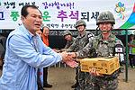 2015.9.25 25사단 GOP 장병들의 아주 특별한 추석 Chuseok, Korean Thanksgiving Day, Republic of Korea Army The 25th Infantry Division (22171853833).jpg