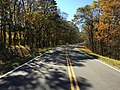 2016-10-25 12 18 13 View south along Shenandoah National Park's Skyline Drive just south of the Jeremys Run Overlook in Page County, Virginia.jpg