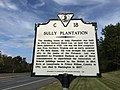 "2017-10-09 13 42 14 ""Sully Plantation"" historical marker along Virginia State Route 28 (Sully Road) in Oak Hill, Fairfax County, Virginia.jpg"
