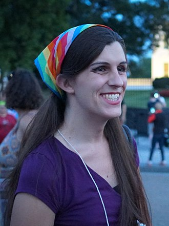 Danica Roem - Image: 2017.07.26 Protest Trans Military Ban, White House, Washington DC USA 7684 (36056856301) (cropped)