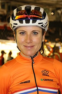 Annemiek van Vleuten Dutch racing cyclist