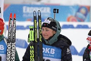 Justine Braisaz French biathlete