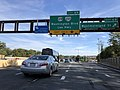 2018-10-19 15 43 10 View east along Interstate 66 (Custis Memorial Parkway) at Exit 68 (Westmoreland Street) in Arlington County, Virginia.jpg