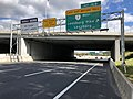 2018-10-24 12 15 04 View east along Virginia State Route 267 (Dulles Toll Road) at Exit 16B (Virginia State Route 7 WEST-Leesburg Pike, Leesburg) in Tysons Corner, Fairfax County, Virginia.jpg