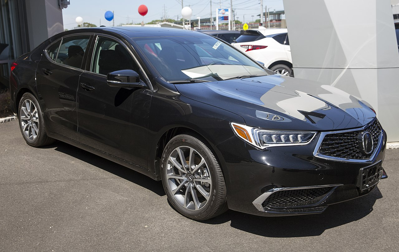 File:2019 Acura TLX 3.5 SH-AWD in Crystal Black, front ...